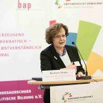 Vom aktuellen und vom bleibenden Wert der politischen Bildung - Barbara Menke zum Bundeshaushalt 2018