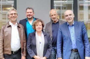 bap-Vorstand: Klaus Holz, Peter Bednarz, Barbara Menke, Christhard Eichhorst, Dr. habil. Karl Weber