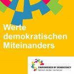 Werte demokratischen Miteinanders