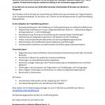 Stellenausschreibung: Referent/in für die Leitung eines 3-jährigen Modellvorhabens