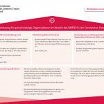 Existenzfragen: Maßnahmenpaket der Bundesregierung für gemeinnützige Organisationen im Bereich Familie, Jugend, Senioren wurde aktualisiert