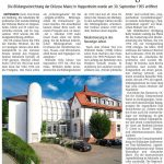 bap-Vorstand ist bestürzt über angekündigte Schließung des Hauses am Maiberg zu Ende 2022